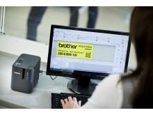 Brother-PT-P900W-Label-Printer-Application-3500px