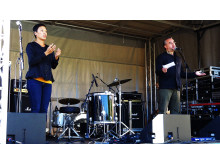 "Alfons Karabuda talar under ""Free Pussy Riot"" - Live at Heart 2012"