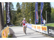 Borghild Løvset vinner Å i Heiane 2014