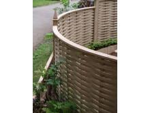 Böjda väggar i din trädgård