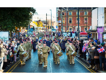 WATCH AGAIN: Last year's homecoming parade in Rochdale by The First Battalion of the Royal Regiment of Fusiliers has been made into a short film, now available to view online.