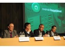 Byggpolitisk debatt Nordbygg 23/3 Alliansen