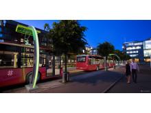 M2016: Elektriske busser med pantograflading