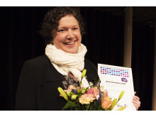 Anna-Mia Johansson, vinnare av stipendiet Berättarkraft 2016.