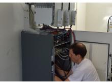 Andrej Stuhl idriftsätter LTE-basstation