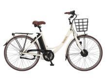 EcoRide elcykel - Ambassador 2016 Vit