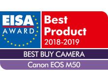 EISA-Award-Logo-Canon-EOS-M50