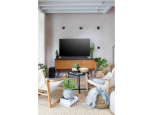 Living room styled by Selina Lake with Sony ZF9 Soundbar