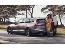 Volvo hyllar den nya familjen - Joel Kinnaman i nya reklamen för Volvo V60