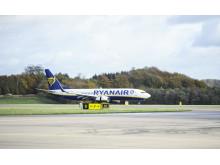 Ryanair opens routes from Kraków to Malmö and Göteborg Landvetter