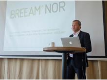 Stig bech på lansering BREEAM-NOR 2016