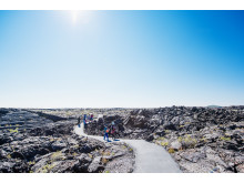 Wandern im Craters of the Moon National Monument