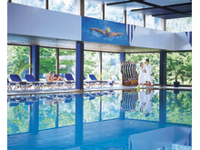 The huge pool in Maritim Berghotel Braunlage