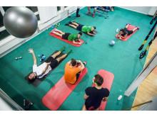Strechyta på anläggningen IKSU sport