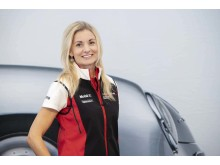 Sanna Strömbäck, marknadschef på Porsche Sverige
