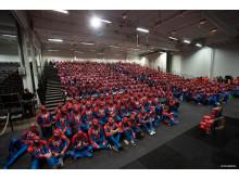 Den största samlingen av människor klädda som Spider-Man