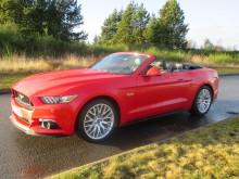Ford Mustang på tur i Nordjylland