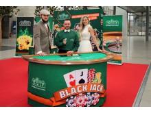 """Spaß am Casino zur eigenen Hochzeit verspricht """"Die Casino Agentur"""" aus Dresden - Foto Isabell Gradinger"""