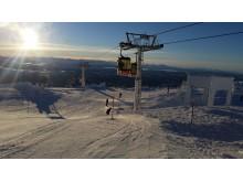 Skiing Åre