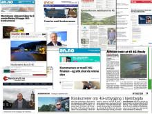 Avisreportasjer fra hele landet