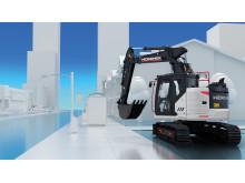 HMK 145LCSR har belönats med Reddot Award för sin välutvecklade ergonomi och genomtänkta lösningar. På MaskinExpo ges möjlighet att provköra maskinen.