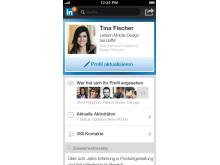 Screenshot LinkedIn Iphone5 Profile