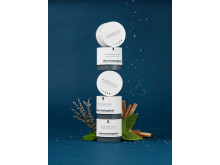 Product Tower with Ingredients (Falling) - Sound Sleep Cocoon