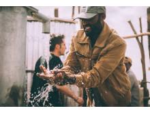Clueso & friends zu Gast in Äthiopien - hier in Sodo, Milleniumsdorf der Welthungerhilfe