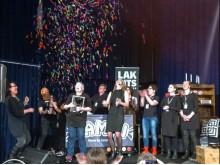 Salmiakbomben från Ett Chokladeri är vinnare av Sveriges Favoritlakrits 2016