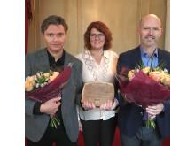 Vinnare av Per och Alma Olssons fonds pris för bästa byggnad