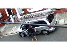 CCTV rogue tradesmen in Mossley Hill