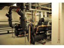 Värmepumpsanläggning, KTH Campus
