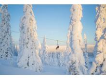 Dyb sne i Sälen