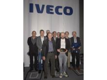I.M. Jensen & Bache er Årets Iveco Forhandler 2016