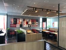 KFC - Lund interiör