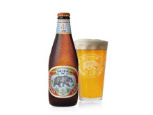 Anchor California Lager bild med glas