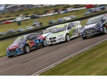 Tung helg i England för Team Peugeot-Hansen