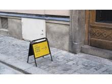 Swedish Design Museum skilt