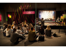 Playground - pedagogisk undervisning i utställningen