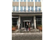Quality Hotel Residence oppfordrer til giverglede i 100-ugå