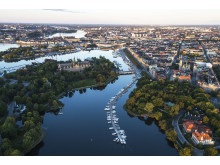 Djurgårdsbrunnsviken in Stockholm, Sweden