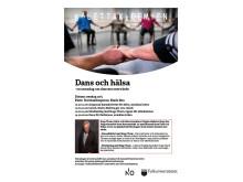 Dans och hälsa - Affisch