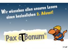 Pax et Bonum Verlag ... die zweite Kerze brennt.
