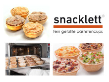 Snacklett- Fingerfood: Innovation mit Biss.