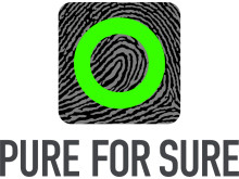 Pure For Sure logotyp