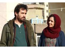 Shahab Hosseini och Taraneh Alidoosti i  Asghar Farhadis drama The Salesman.