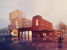 Visionsbild bagerihuset med förskola