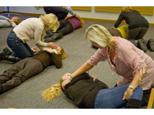 Bliwas kunder lär sig hjärt-lungräddning