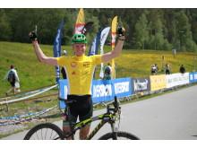 Vinner av M Senior Konnerudrittet 2016 Petter Fagerhaug