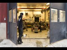 Jenny och Pontus Lundström, garage